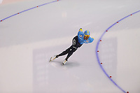 SCHAATSEN: CALGARY: Olympic Oval, 09-11-2013, Essent ISU World Cup, 1000m, Darsil Essamambo (KAZ), ©foto Martin de Jong