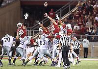 STANFORD, CA; September 2, 2016; Football, Stanford vs Kansas.