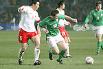 Dublin Ireland, Ireland's No 10 Robbie Keane holding off China's No 5 Li Weifeng during the friendly international soccer match in Lansdowne Road, Stadium, Dublin, Irelande, 29/3/05.Photo AFP/NEWSFILE/FRAN CAFFREY..(Photo credit should read  AFP Photo FRAN CAFFREY/NEWSFILE)...This Picture has been sent you under the condtions enclosed by:.Newsfile Ltd..the Studio,.Millmount Abbey,.Drogheda,.Co Meath..Ireland..Tel: +353(0)41-9871240.Fax: +353(0)41-9871260.GSM: +353(0)86-2500958.email: pictures@newsfile.ie.www.newsfile.ie.FTP: 193.120.102.198..This picture is from Fran Caffrey@newsfile.ie