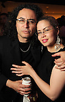 Ezekiel Solis and Elizabeth Stuart at the kick-off party for the Latin Wave: New Films From Latin America festival a the Museum of Fine Arts Houston Thursday April 29,2010.. (Dave Rossman Photo)