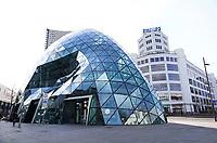 Nederland Eindhoven 2018. De Blob in Eindhoven. De Blob is een winkelcentrum ontworpen door Massimiliano Fuksas. Foto Berlinda van Dam / Hollandse Hoogte