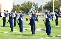 NWA Democrat-Gazette/FLIP PUTTHOFF <br />MUSIC MARCH<br />The Shiloh Christian high school marching band of Springdale performs Saturday Oct. 6 2018 during the Bentonville Marching Invitational at Tiger Stadium in Bentonville. Seventeen marching bands from high schools in Arkansas, Missouri and Oklahoma competed. Each band performed 15 minutes for judges in the event.