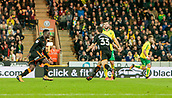 31st October 2017, Carrow Road, Norwich, England; EFL Championship football, Norwich City versus Wolverhampton Wanderers; Wolverhampton Wanderers forward Leo Bonatini celebrates after scoring Wolves second goal of the match