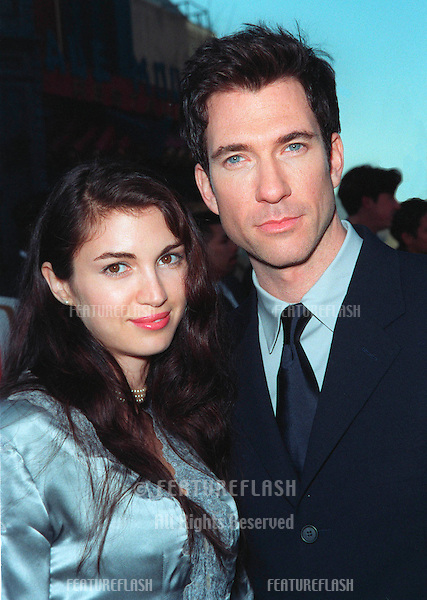 01FEB99:  Actor DYLAN McDERMOTT & wife at the 1st Annual TV Guide Awards in Los Angeles. .© Paul Smith / Featureflash