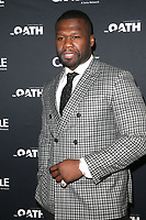 CULVER CITY, CA - MARCH 7: 50 Cent pictured at Crackle's The Oath Premiere at Sony Pictures Studios in Culver City, California on March 7, 2018. <br /> CAP/MPIFS<br /> &copy;MPIFS/Capital Pictures