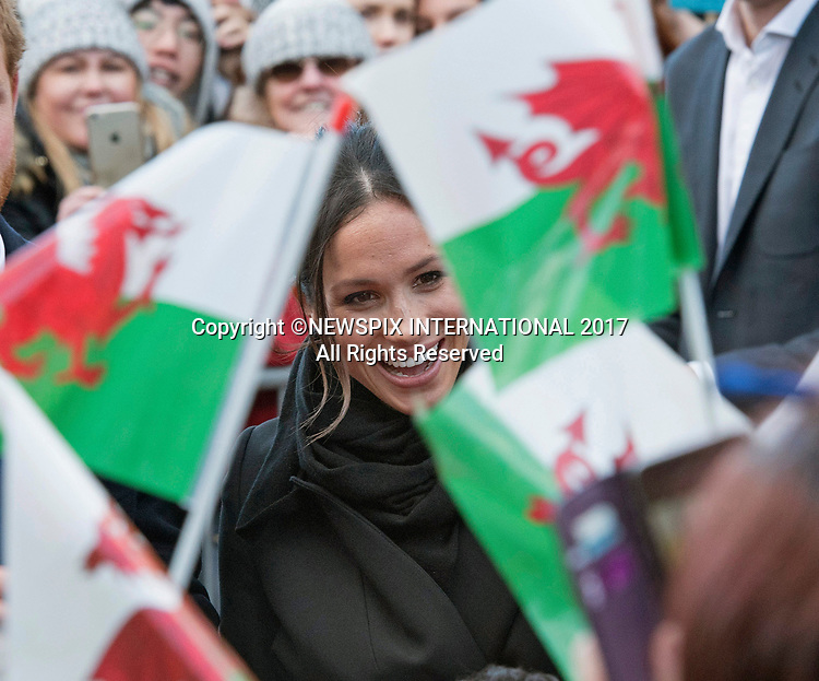 Meghan Markle & Prince Harry Visit Cardiff