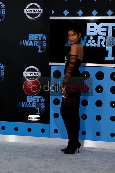 Ajiona Alexus<br /> at the BET Awards 2017, Microsoft Theater, Los Angeles, CA 06-25-17<br /> David Edwards/DailyCeleb.com 818-249-4998