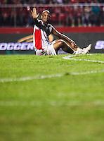 SAO PAULO, SP, 27 DEZEMBRO 2012 - JOGO DAS ESTRELAS -  durante partida do Jogo das Estrelas no Estadio Cicero Pompeu de Toledo (Morumbi) na regiao sul da capital paulista noite desta quinta-feira, 27. (FOTO: WILLIAM VOLCOV / BRAZIL PHTOTO PRESS).