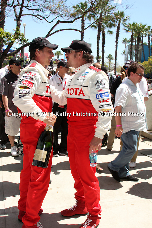 LOS ANGELES - APR 16:  William Fitchner, Kim Coates  at the Toyota Grand Prix Pro Celeb Race  at Toyota Grand Prix Track on April 16, 2011 in Long Beach, CA.
