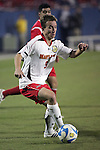 12 December 2008: Jason Herrick (9) of Maryland.  The University of Maryland Terrapins defeated the St. John's University Red Storm 1-0 during the second sudden death overtime at Pizza Hut Park in Frisco, TX in an NCAA Division I Men's College Cup semifinal game.
