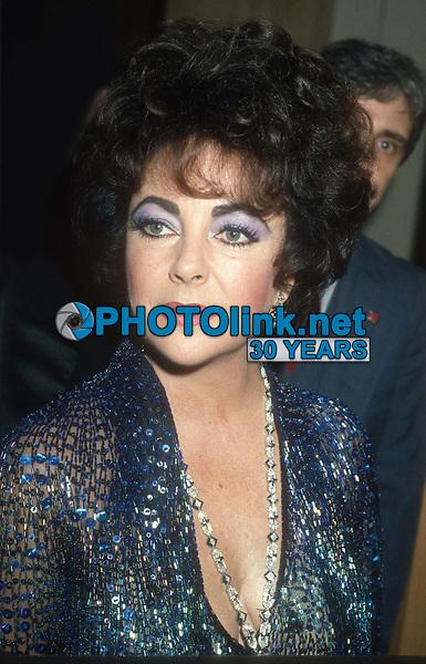 Elizabeth Taylor 1985<br /> Photo By John Barrett/PHOTOlink.net