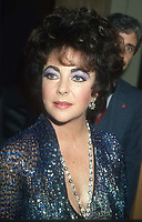 Elizabeth Taylor 1985<br /> Photo By John Barrett/PHOTOlink.net