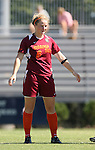 30 September 2007: Virginia Tech's Kelly Lynch. The Duke University Blue Devils defeated the Virginia Tech University Hokies 1-0 in sudden death overtime at Koskinen Stadium in Durham, North Carolina in an Atlantic Coast Conference NCAA Division I Women's Soccer game.