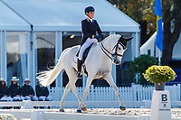 AUS-Isabel English rides Feldale Mouse during the second day of Dressage for the CCI5*-L. Les 5 Etoiles de Pau. Pyrenees Atlantiques. France. Friday 25 October. Copyright Photo: Libby Law Photography