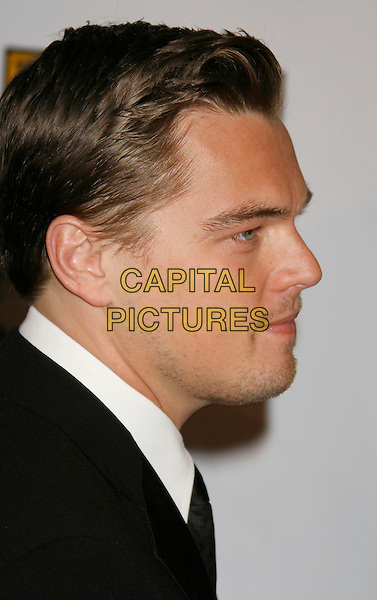 LEONARDO DICAPRIO.12th Annual Critics' Choice Awards held at the Santa Monica Civic Center, Santa Monica, California, LA, USA, 12 January 2007..portrait headshot leo di caprio profile.CAP/ADM/RE.©Russ Elliot/AdMedia/Capital Pictures.