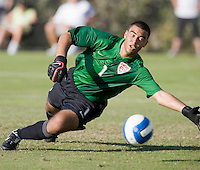 USA goalkeeper Earl Edwards (1) makes a save. 2007 Nike Friendlies, which are taking place from Dec. 6-9 at IMG Academies in Bradenton, Fla.