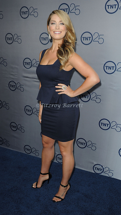 "Briga Heelan arriving to the ""TNT's 25th Anniversary Party"" held during the TCA at the Beverly Hilton Hotel on July 24, 2013 Beverly Hills CA."