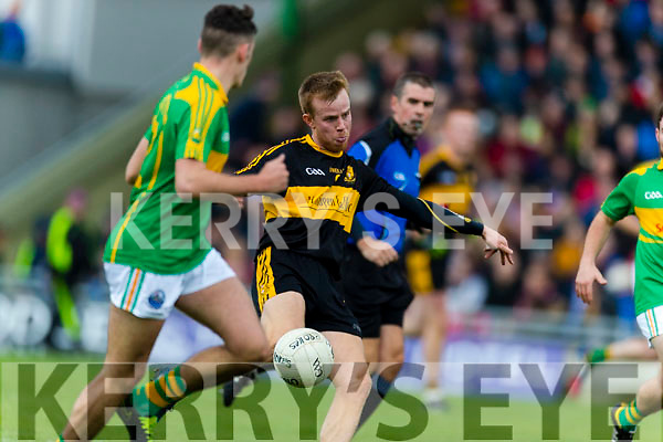 Fionn Fitzgerald Dr Crokes in action against  South Kerry in the Senior County Football Final in Austin Stack Park on Sunday
