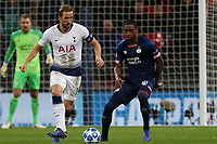 Pablo Rosario of PSV Eindhoven and Harry Kane of Tottenham Hotspur during Tottenham Hotspur vs PSV Eindhoven, UEFA Champions League Football at Wembley Stadium on 6th November 2018
