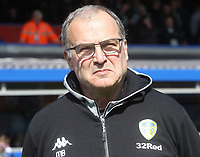 Leeds United's Marcelo Bielsa<br /> <br /> Photographer Mick Walker/CameraSport<br /> <br /> The EFL Sky Bet Championship - Birmingham City v Leeds United - Saturday 6th April 2019 - St Andrew's - Birmingham<br /> <br /> World Copyright © 2019 CameraSport. All rights reserved. 43 Linden Ave. Countesthorpe. Leicester. England. LE8 5PG - Tel: +44 (0) 116 277 4147 - admin@camerasport.com - www.camerasport.com