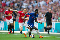 Chelsea's Tiemoue Bakayoko holds off the challenge from Manchester United's Nemanja Matic <br /> <br /> Photographer Craig Mercer/CameraSport<br /> <br /> Emirates FA Cup Final - Chelsea v Manchester United - Saturday 19th May 2018 - Wembley Stadium - London<br />  <br /> World Copyright &copy; 2018 CameraSport. All rights reserved. 43 Linden Ave. Countesthorpe. Leicester. England. LE8 5PG - Tel: +44 (0) 116 277 4147 - admin@camerasport.com - www.camerasport.com