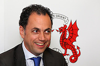 Leyton Orient Chief Executive Alessandro Angelieri address the media - Leyton Orient FC Press Conference to announce new manager Ian Hendon at Brisbane Road, Leyton Orient FC, Leyton, London - 29/05/15 - MANDATORY CREDIT: Gavin Ellis/TGSPHOTO - Self billing applies where appropriate - contact@tgsphoto.co.uk - NO UNPAID USE