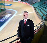 Picture by Simon Wilkinson/SWpix.com - 10/01/2017 - Cycling British Cycling - National Cycling Centre, Manchester - British Cycling new Independent Chairman - Frank Slevin