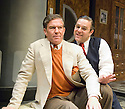 Moonlight and Magnolias by Ron Hutchinson ,directed by Sean Holmes. With Steven Pacey as Victor Flemming,Andy Nyman as David O'Selznick.Opens at The Tricycle Theatre  on 10/7/08. CREDIT Geraint Lewis