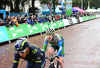 Picture by Simon Wilkinson/SWpix.com - 10/09/2017 - Cycling - OVO Energy Tour of Britain - Stage 8 Worcester to Cardiff - final stage<br /> Finish Cardiff - podiums MARK STEWART