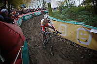 balancing act at high speed by Kevin Pauwels (BEL/Sunweb-Napoleon Games)<br /> <br /> Superprestige Gavere 2014