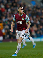 30th November 2019; Turf Moor, Burnley, Lanchashire, England; English Premier League Football, Burnley versus Crystal Palace; Ashley Barnes of Burnley - Strictly Editorial Use Only. No use with unauthorized audio, video, data, fixture lists, club/league logos or 'live' services. Online in-match use limited to 120 images, no video emulation. No use in betting, games or single club/league/player publications