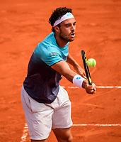 MARCO CECCHINATO (ITA)<br /> <br /> TENNIS - FRENCH OPEN - ROLAND GARROS - ATP - WTA - ITF - GRAND SLAM - CHAMPIONSHIPS - PARIS - FRANCE - 2018  <br /> <br /> <br /> <br /> &copy; TENNIS PHOTO NETWORK