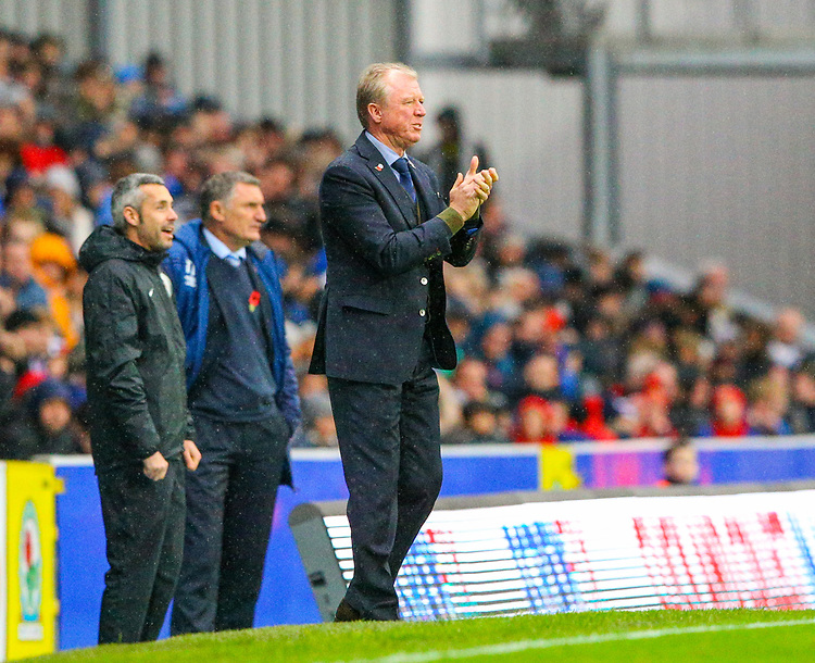 Queens Park Rangers manager Steve McClaren<br /> <br /> Photographer Alex Dodd/CameraSport<br /> <br /> The EFL Sky Bet Championship - Blackburn Rovers v Queens Park Rangers - Saturday 3rd November 2018 - Ewood Park - Blackburn<br /> <br /> World Copyright © 2018 CameraSport. All rights reserved. 43 Linden Ave. Countesthorpe. Leicester. England. LE8 5PG - Tel: +44 (0) 116 277 4147 - admin@camerasport.com - www.camerasport.com