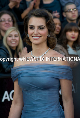 "PENELOPE CRUZ..84th Academy Awards arrivals, Kodak Theatre, Hollywood, Los Angeles_26/02/2012.Mandatory Photo Credit: ©Dias/Newspix International..**ALL FEES PAYABLE TO: ""NEWSPIX INTERNATIONAL""**..PHOTO CREDIT MANDATORY!!: NEWSPIX INTERNATIONAL(Failure to credit will incur a surcharge of 100% of reproduction fees)..IMMEDIATE CONFIRMATION OF USAGE REQUIRED:.Newspix International, 31 Chinnery Hill, Bishop's Stortford, ENGLAND CM23 3PS.Tel:+441279 324672  ; Fax: +441279656877.Mobile:  0777568 1153.e-mail: info@newspixinternational.co.uk"