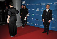 Olivia Colman and Martin Freeman at the British Independent Film Awards (BIFA) 2018, Old Billingsgate Market, Lower Thames Street, London, England, UK, on Sunday 02 December 2018.<br /> CAP/CAN<br /> &copy;CAN/Capital Pictures