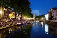Utrecht, 4 september 2011.Nederlands Film Festival.Uitfeest: Drijf In.Openlucht filmvertoning aan de Bemuurde Weerd..Foto Felix Kalkman