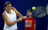 MARION BARTOLI  (FRA) against JARMILA GAJDOSOVA (AUS) in the group match at the Hopman Cup. France beat Australia 6-0 6-0..03/01/2012, 3rd January 2012, 03.01.2012..The HOPMAN CUP, Burswood Dome, Perth, Western Australia, Australia.@AMN IMAGES, Frey, Advantage Media Network, 30, Cleveland Street, London, W1T 4JD .Tel - +44 208 947 0100..email - mfrey@advantagemedianet.com..www.amnimages.photoshelter.com.