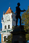 Metropolitan Cathedral_Antonio Jose De Sucre Monument_Sucre_Bolivia
