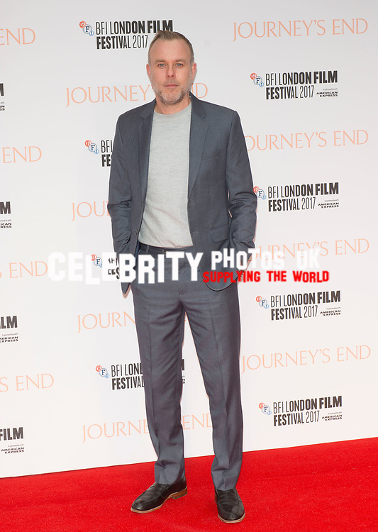 Saul Dibb at the 'Journey's End' film premiere, 61st BFI London Film Festival, UK  6th Oct 2017