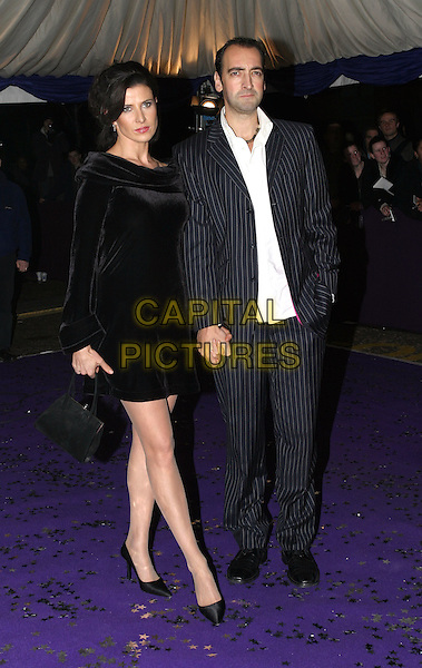 RONNI ANCONA & ALISTAIR MCGOWAN.British Comedy Awards at London Television Studios .10 December 2003.www.capitalpictures.com.sales@capitalpictures.com.© Capital Pictures.