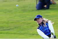 Bronte Law of Team Europe on the 9th during Day 1 Fourball at the Solheim Cup 2019, Gleneagles Golf CLub, Auchterarder, Perthshire, Scotland. 13/09/2019.<br /> Picture Thos Caffrey / Golffile.ie<br /> <br /> All photo usage must carry mandatory copyright credit (© Golffile | Thos Caffrey)