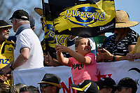 Fan during the Super Rugby Preseason - Hurricanes v Crusaders at Levin Domain, Levin, New Zealand on Saturday 2 February 2019. <br /> Photo by Masanori Udagawa. <br /> www.photowellington.photoshelter.com