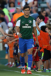 22 August 2015: New York's Ruben Bover. The Carolina RailHawks hosted the New York Cosmos at WakeMed Stadium in Cary, North Carolina in a North American Soccer League 2015 Fall Season match. Cosmos won the game 3-1.