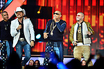CORAL GABLES, FL - APRIL 28: El Dasa, Randy Malcom Martinez and Alexander Delgado of Gente de Zona and Farruko performs onstage at the Billboard Latin Music Awards at the BanKUnited Center on Thursday April 28, 2016 in Coral Gables, Florida. ( Photo by Johnny Louis / jlnphotography.com )