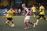 Aston Villa vs West Ham United during the Main tournament of the HKFC Citi Soccer Sevens on 22 May 2016 in the Hong Kong Footbal Club, Hong Kong, China. Photo by Lim Weixiang / Power Sport Images