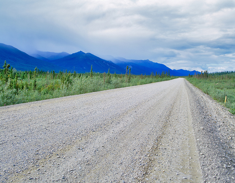 Elliot Highway near Coldfoot, Alaska.