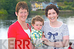 Enjoying the fun at the Astellas raft race in Killorglin on Friday evening were Catherine Foley with Susan and Charlie Foley, Killorglin.