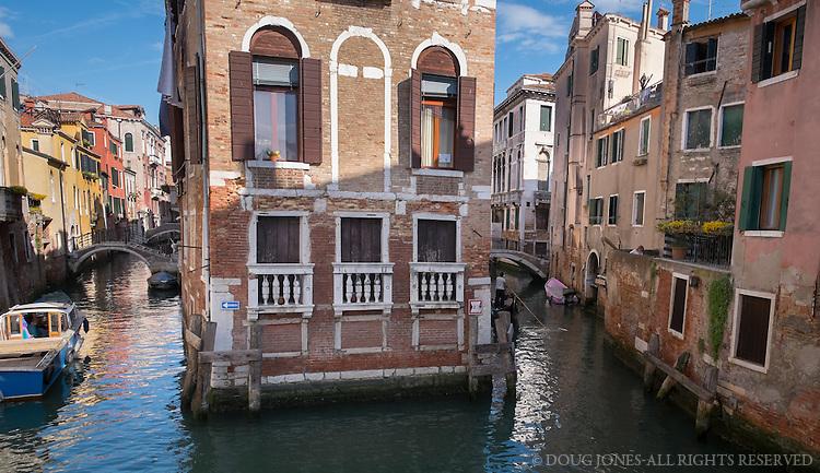 From the Acqua Alta bookshop in Castello, Venice.