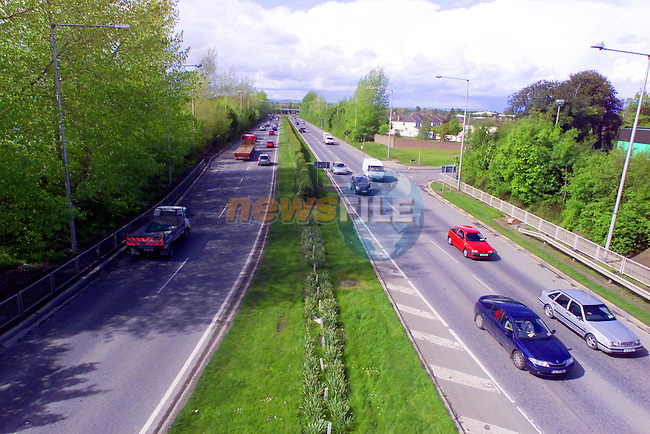 M1 at Swords...Picture  Newsfile...This Picture is sent to you by:..Newsfile Ltd.The View, Millmount Abbey, Drogheda, Co Louth, Ireland..Tel: +353419871240.Fax: +353419871260.GSM: +353862500958.ISDN: +353419871010.email: pictures@newsfile.ie.www.newsfile.ie