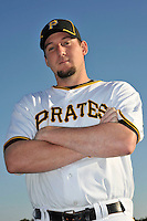 Feb 28, 2010; Bradenton, FL, USA; Pittsburgh Pirates  pitcher Joel Hanrahan (52) during  photoday at Pirate City. Mandatory Credit: Tomasso De Rosa/ Four Seam Images